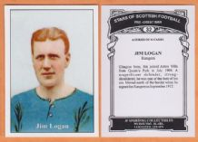Glasgow Rangers Jim Logan 32